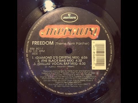 "VARIOUS ARTISTS - FREEDOM (THEME FROM PANTHER) [12"" SINGLE]"
