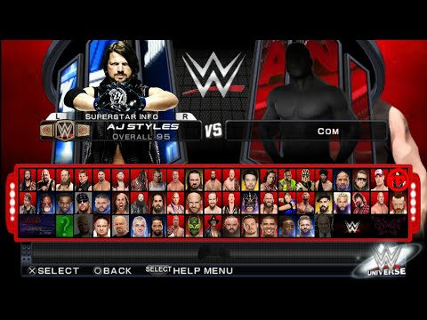 Wwe 2k18 Smack Down Vs Raw Real Game On Android Device Youtube