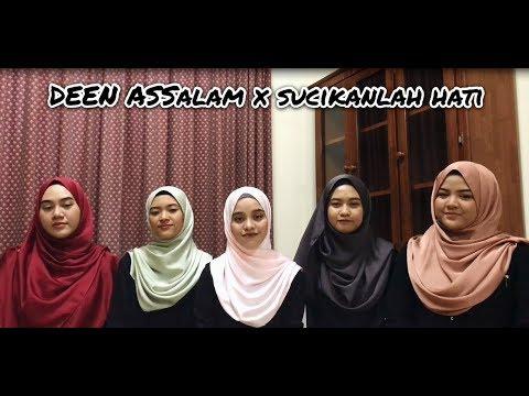 Deen Assalam (Sabyan) X Sucikanlah Hati (Rabithah) Acapella Version by Bahiyya Haneesa
