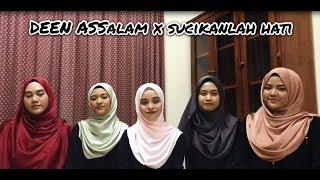Gambar cover Deen Assalam (Sabyan) X Sucikanlah Hati (Rabithah) Acapella Version by Bahiyya Haneesa