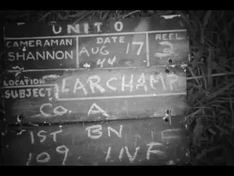 28th Infantry Division - Larchamp - Normandie - 17/08/1944 -