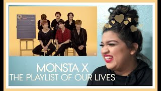 Monsta X Creates The Playlist of Their Lives - Reaction