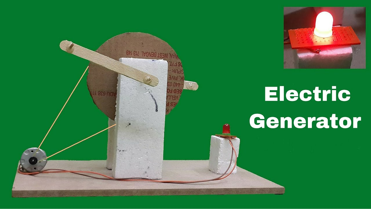 how to make a simple electric generator. How To Make A Simple Electric Generator O