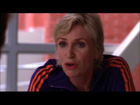 Glee - Sue tells Will how she caught Jacob masturbating to a video of Rachel 2x02