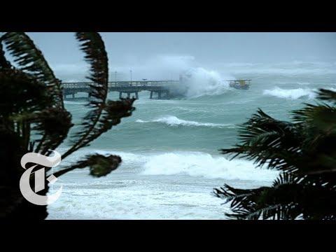 Hurricane Irma hits Florida Keys | The New York Times