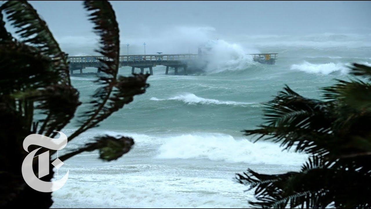 Hurricane Irma hits Florida Keys