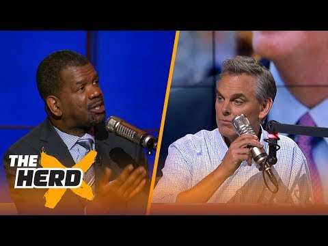 Goodell deserving of a 5-year extension from the NFL? Rob Parker and Colin Cowherd debate | THE HERD