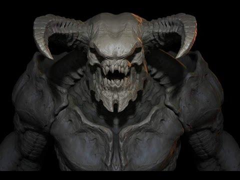 Doom 2016 Baron Of Hell Introduction Youtube