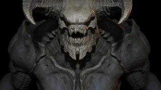 DOOM 2016 Baron of Hell Introduction
