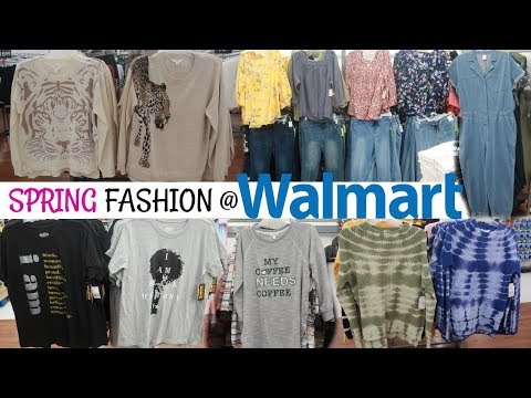WALMART CLOTHING SHOPPING * PLUS SIZE/ NEW FOR SPRING 2020