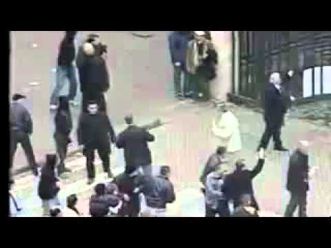 Three people were killed by state police during protests in Albania - Tirana - 21-01-2011