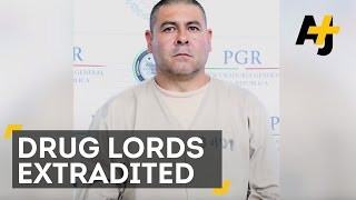13 Drug Lords Extradited To The U.S. After El Chapo's Escape