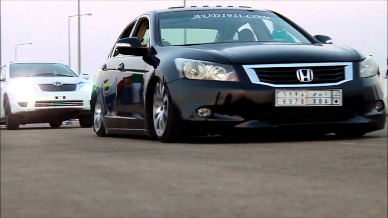 9Th Gen Accord >> Saudi Accord Fully Lowered Driving - YouTube