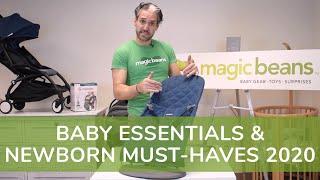 Baby Essentials & Newborn Must-haves 2020 | Magic Beans Best Baby Gear