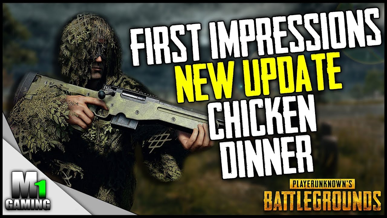 Playerunknowns Battlegrounds New Update First New Chicken Dinner Pubg Test Server