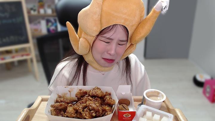 되는게 하나도 없어 슬픈 닭콩이.. [라떼치킨 리뷰!]