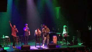 Lin Manuel Miranda and Freestyle Love Machine Freestyle Word Draw 9/30/16 early show