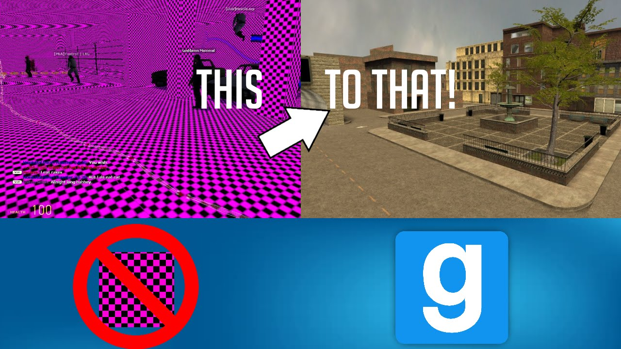 How to Fix ALL of the Missing Textures in Garry's Mod! FREE! (2016)