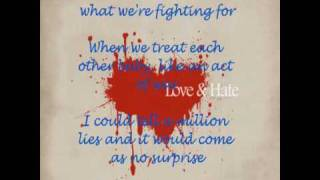 Def Leppard - When Love And Hate Collide - With Lyrics