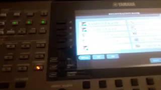 ياماها 3000 .. Yamaha 3000  طريقة تشغيل الايقاعات والرجسترات والاصوات والبادات
