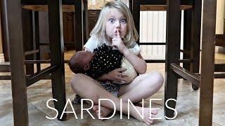 SARDINES WITH BABY BLAKE!! | HIDE AND SEEK!
