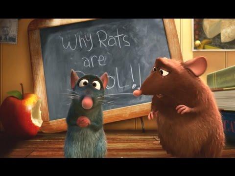Мультфильм с крысой