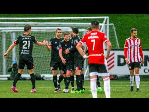 Derry City Dundalk FC Goals And Highlights