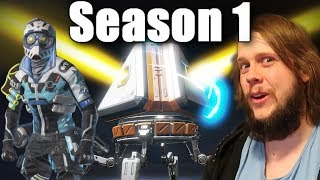 OPENING 100+ APEX LEGENDS PACKS BATTLEPASS SEASON 1