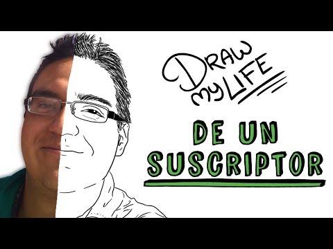 HACEMOS EL DRAW MY LIFE DE UN SUSCRIPTOR   Draw My Life