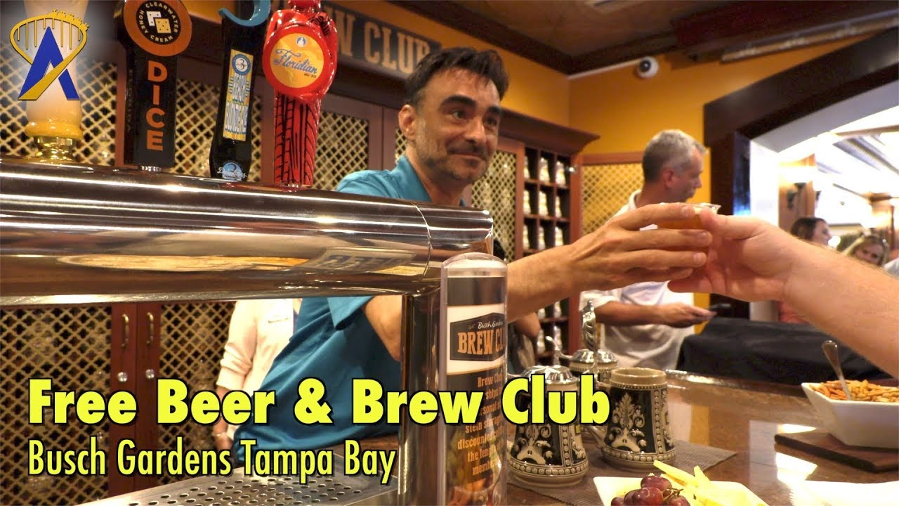 Busch Gardens Tampa Bay brings back Free Beer and debuts Brew Club ...