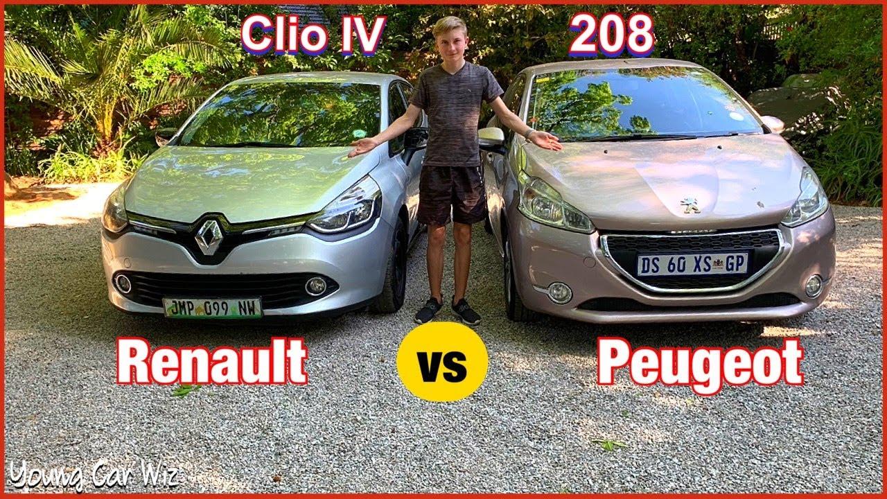 Download 2017 Renault Clio IV vs 2016 Peugeot 208