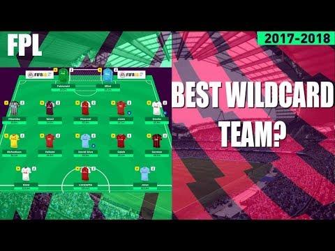 GAMEWEEK 8 WILDCARD TEAM! BEST WILDCARD FANTASY PREMIER LEAGUE 2017/18 TEAM? MUST HAVE PLAYERS!
