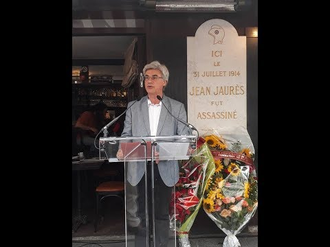 Hommage à Jean Jaurès