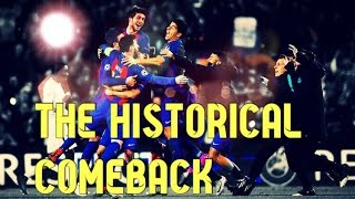 vuclip Fc Barcelona 6-5 PSG●The greatest comeback in UCL●Short movie HD