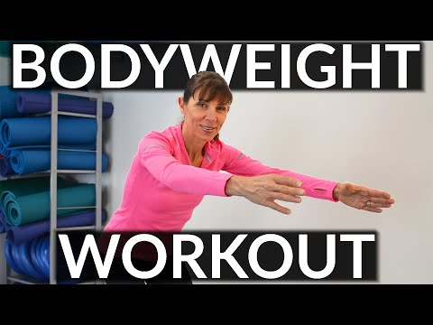 Beginners Body Weight Exercises for Women – Whole Body Strengthening Routine