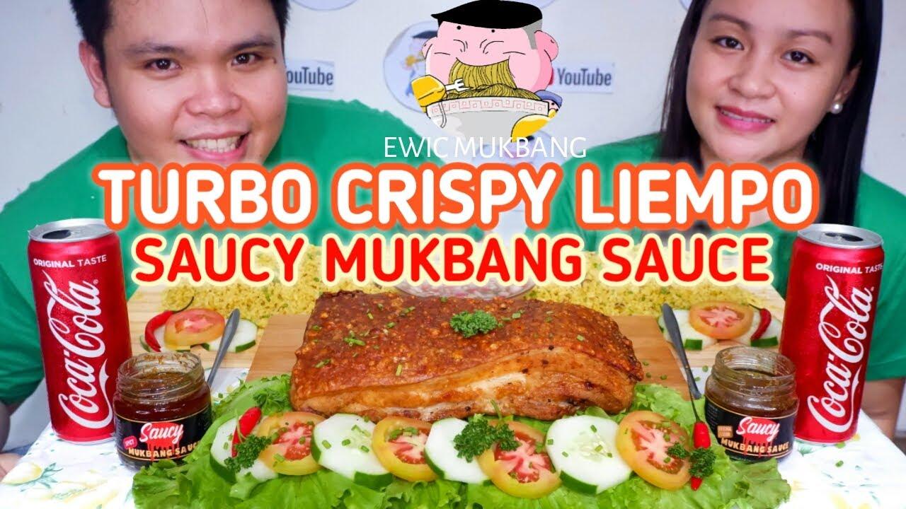 Turbo Crispy Liempo With Saucy Mukbang Sauce