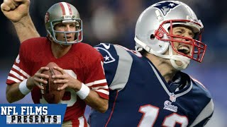 Tom Brady Follows Joe Montana | NFL Films Presents