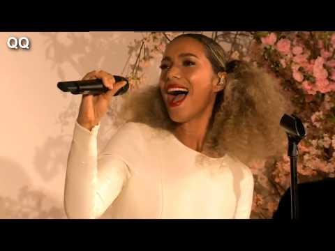 [Full HD] Leona Lewis - Thunder + Bleeding love - live DVF Awards 2018