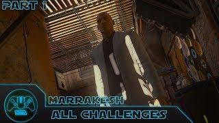 Hitman - All Challenges - Episode 3 Marrakesh  - Part 1