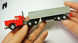 How to Build a Lego Truck with Trai...