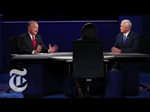 Fact Check: The Vice-Presidential Debate | Election 2016 | The New York Times
