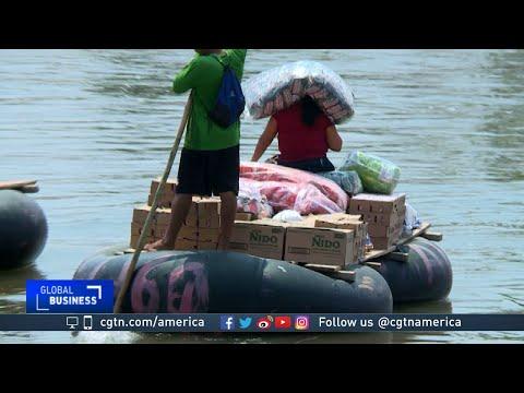 Illegal trade continues near Mexico-Guatemala border