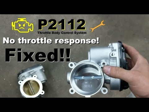 2016 F150: Throttle Body Replacement