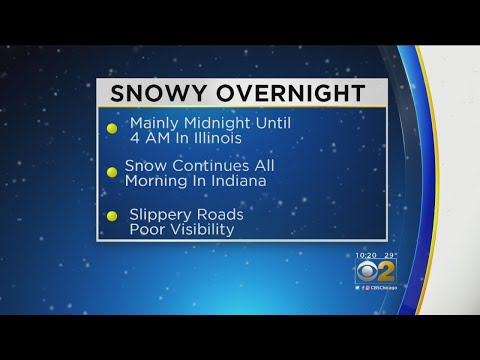 CBS 2 Weather Watch (10 p.m. Dec. 13, 2017)