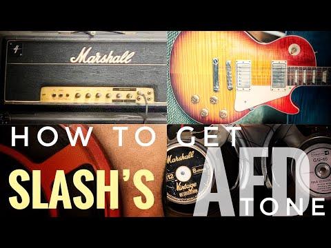 How to get Slash's Guitar Tone on Appetite For Destruction!