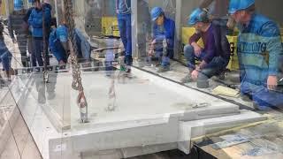 Монтаж балконов заводского изготовления с Schöck Iqlick