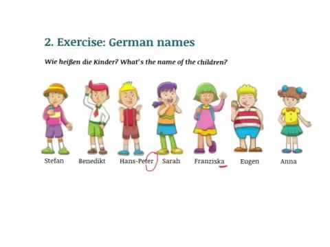 German pronunciation Part 2 Vowels (Germanlessons)