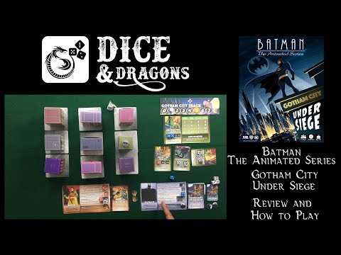 Dice And Dragons - Batman The Animated Series Gotham City Under Siege