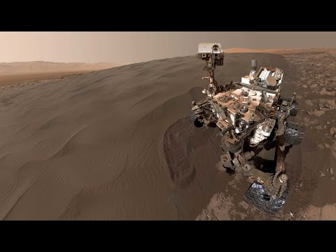 Curiosity rover on Mars takes selfies