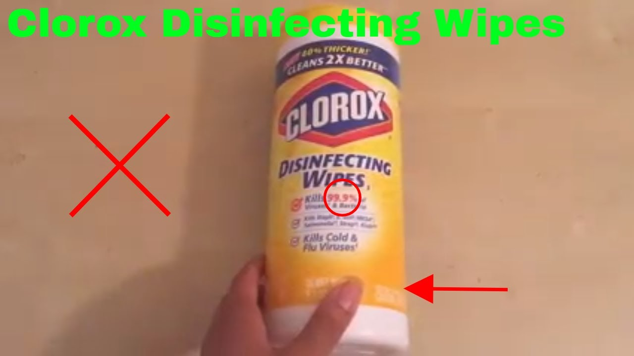 ✅ How To Use Clorox Disinfecting Wipes